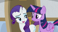Rarity -darling, of course not- S8E16
