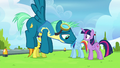 Sky Stinger hovers by with destroyed confidence S6E24.png