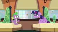 Spike --What are you talking about--- S6E2