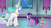 Spike -when did that happen exactly-- S8E7