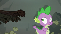 Spike running S3E9