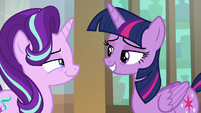 Starlight Glimmer smirking at Twilight S9E1
