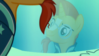 Sunburst looking at his reflection S7E24
