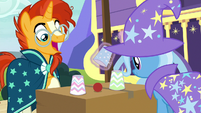 Sunburst uncovers the red ball S7E24