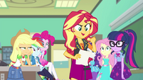 Sunset Shimmer -gathering their memories- EGFF