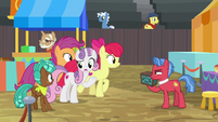 """Sweetie Belle """"supposed to be sharing him"""" S9E22"""