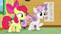 Sweetie Belle -it always works for Rarity- S8E12