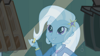 "Trixie ""needs some peanut butter crackers"" EG"