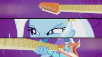 Trixie shredding faster EG2