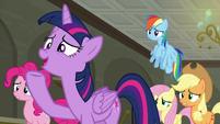Twilight Sparkle --we're workin' on it!-- S6E9
