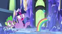 Twilight Sparkle in complete shock S7E10