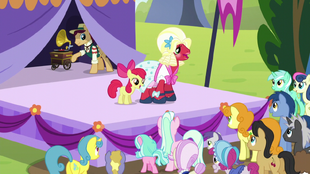 """Apple Bloom and Orchard Blossom """"it's not always perfect"""" S5E17"""