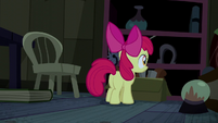 Apple Bloom explores the cabin S5E6