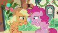 Applejack and Pinkie about to laugh S5E20.png