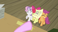 CMC being hit by paper S2E23