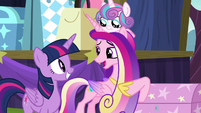 "Cadance ""so glad we decided to come"" S8E19"