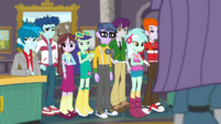 Canterlot High students looking uninterested EGDS1