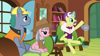 """Dandy Grandeur """"can't wait to work with you"""" S7E5"""