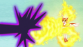 Daybreaker repels Nightmare Moon's magic with flames S7E10.png