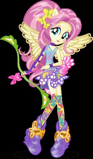Image - Fluttershy Friendship Games bio art.png | My ...