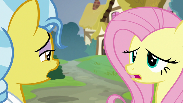 """File:Fluttershy and Dr. Fauna """"oh, dear"""" S7E5.png"""