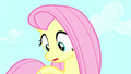 Fluttershy looks down at giant Angel S5E13.png