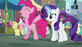 "Pinkie Pie ""can't wait to see the look on her face"" S6E3.png"
