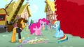 Pinkie Pie gives victory to Cheese Sandwich S4E12.png