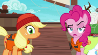 Pinkie Pie sarcastic --that sounds fun-- S6E22