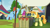 "Rainbow Dash ""so here you go"" S4E22"