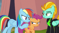 Rainbow Dash -and also, no!- S8E20