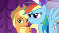 Rainbow snorts angrily S5E14.png