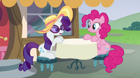 Rarity --if everypony could speak in a whisper-- S6E21