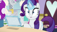 Rarity making a realization S7E6