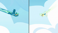 Sky Stinger and Vapor Trail flying down to the ground S6E24.png
