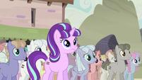 Starlight hears Fluttershy's outburst S5E2