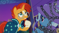 Sunburst -hold the chain up long enough- S7E24