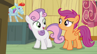 Sweetie Belle -we're all scared of the same things- S5E4