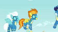 The Wonderbolts able to fly S4E26