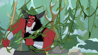 Tirek pulling vines from the trees S9E8