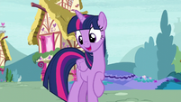Twilight asks Spike what he wants S5E3