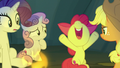 Apple Bloom squealing with excitement S7E16.png