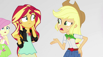 """Applejack """"Twilight would be okay with that?"""" EGS3"""