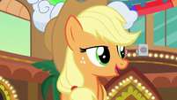 Applejack --show even those two con-ponies kindness-- S6E20
