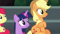 Applejack notices Rainbow Dash nearby S6E7.png