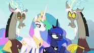 Celestia, Luna ja kaksi Discordia