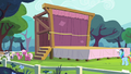 Cheerilee and school foals near the stage S4E05.png
