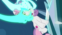 Claws dragging in Sweetie Belle S8E26