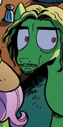 Comic issue M3 Charles Manson