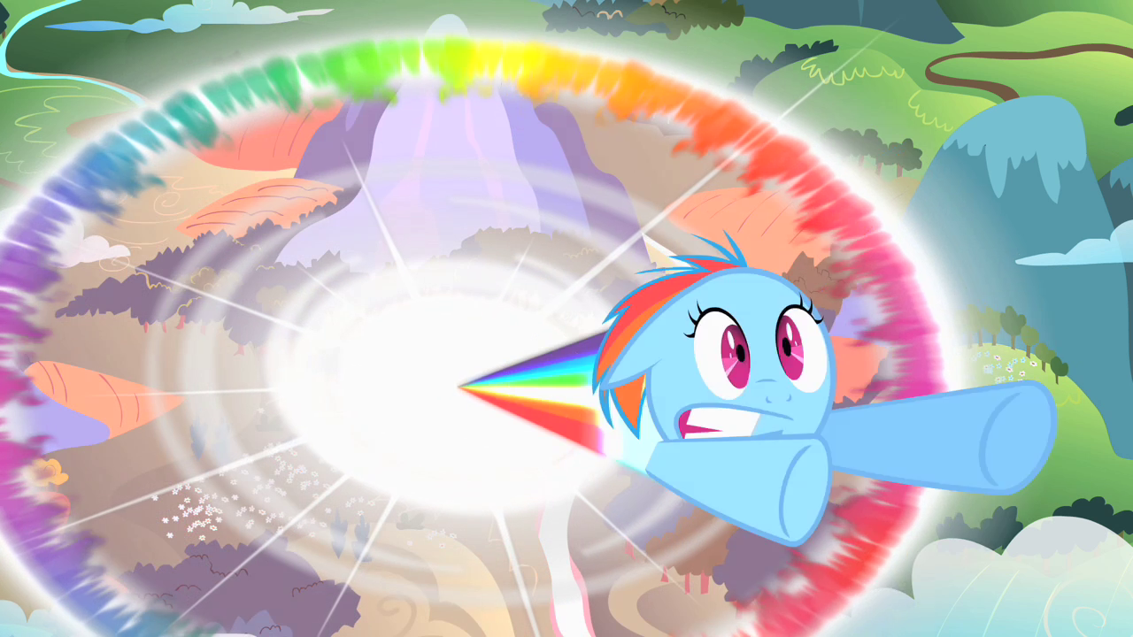 The Cutie Mark Chronicles Filly Rainbow Dash Sonic Rainboom S1E23